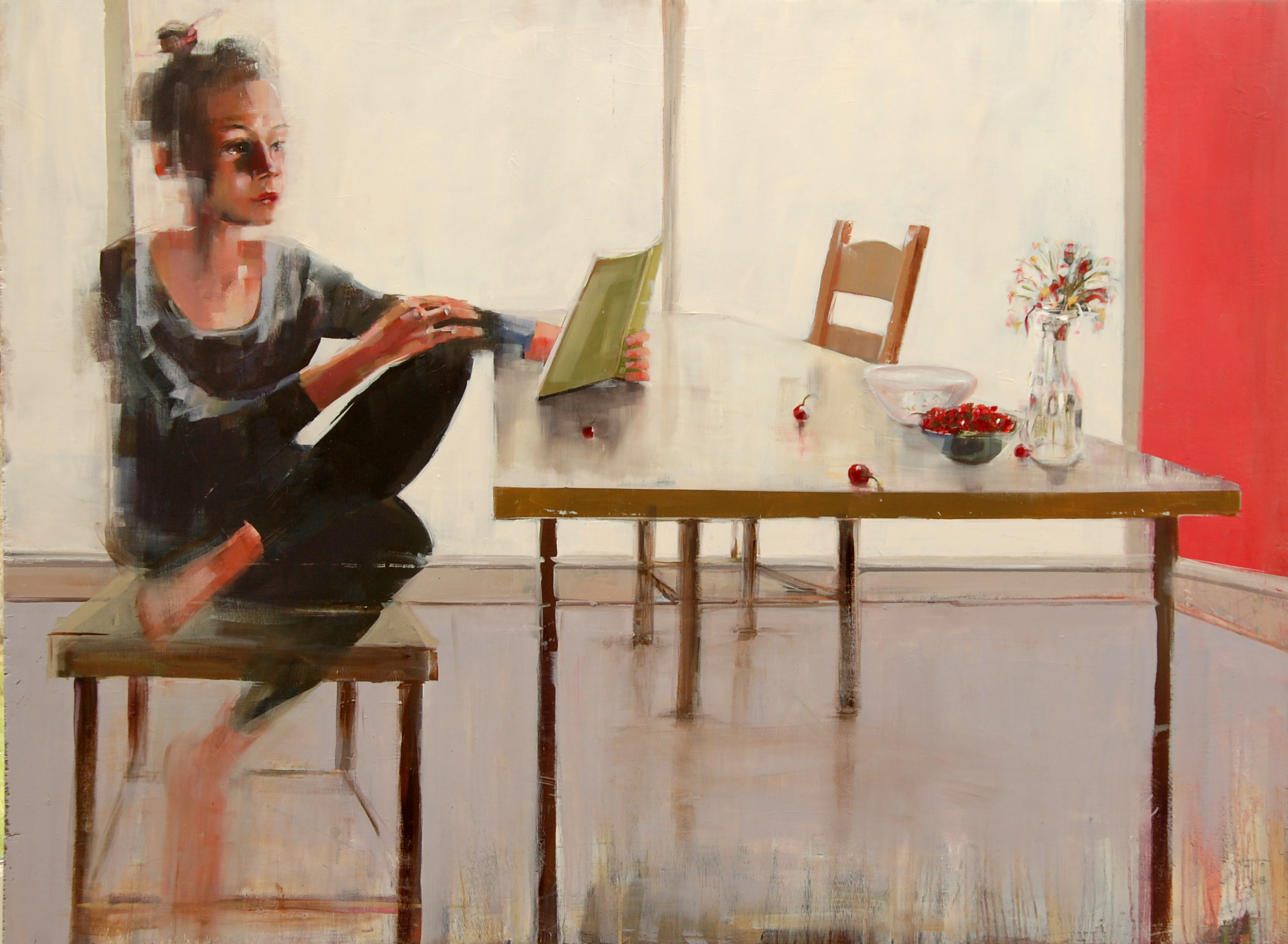 Girl Reading no. 1